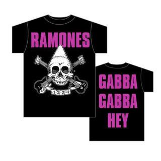 Ramones - Pinehead Skull T-Shirt