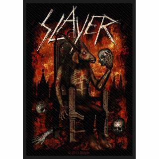 Slayer - Devil On Throne Aufnäher