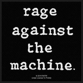 Rage Against The Machine - Logo Aufnäher
