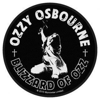 Ozzy Osbourne - Blizzard Of Ozz Aufnäher