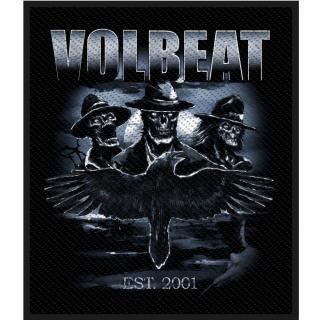 Volbeat - Outlaw Raven Aufnäher