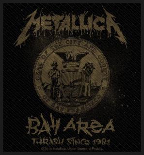 Metallica - Bay Area Thrash Aufnäher