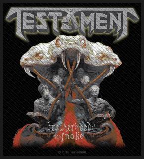 Testament - Brotherhood Of The Snake Aufnäher