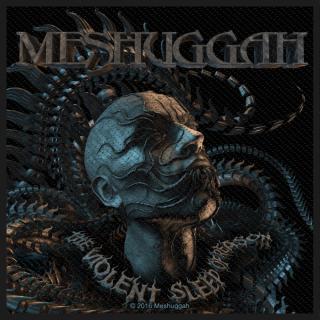Meshuggah - Head The Violent Sleep Aufnäher