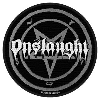 Onslaught - Pentagram Aufnäher