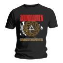 Soundgarden - Badmotor Finger Black T-Shirt