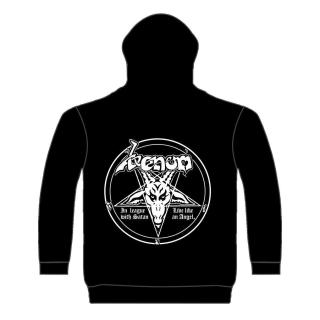 Venom - In League With Satan Kapuzenjacke
