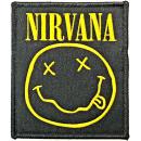 Nirvana - Smiley Patch Aufnäher
