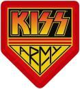 KISS - Army Badge Patch Aufnäher