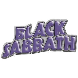Black Sabbath - Purple Logo Pin