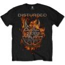 Disturbed - Burning Belief T-Shirt