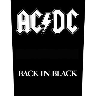 AC/DC - Back In Black -  Backpatch Rückenaufnäher