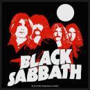 Black Sabbath - Red Portraits Aufnäher