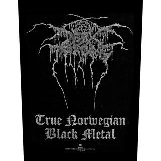 Darkthrone - True Norwegian Black Metal -  Backpatch Rückenaufnä
