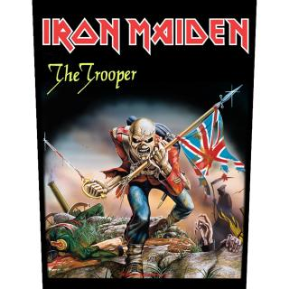 Iron Maiden - The Trooper -  Backpatch Rückenaufnäher