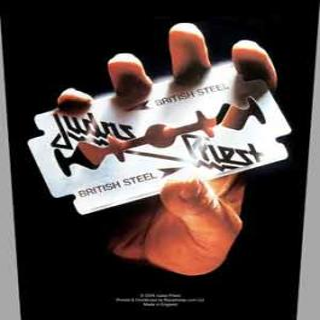 Judas Priest - British Steel -  Backpatch Rückenaufnäher