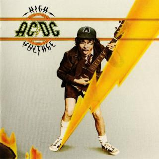 AC/DC - High Voltage - Remastered  CD