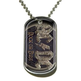 AC/DC - Rock Or Bust Dog-Tag Anhänger