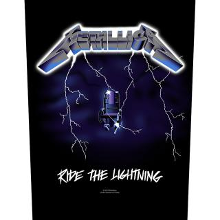 Metallica - Ride The Lightning -  Backpatch Rückenaufnäher