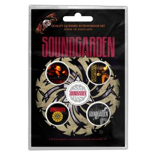 Soundgarden - Badmotorfinger Button-Set