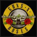 Guns N Roses - Bullet Logo -  Patch Aufnäher