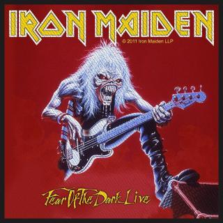 Iron Maiden - Fear Of The Dark Live -  Patch Aufnäher