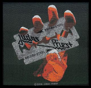 Judas Priest - British Steel -  Patch Aufnäher