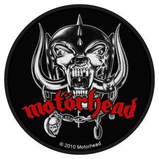 Motörhead - Warpig rund -  Patch Aufnäher