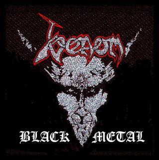 Venom - Black Metal -  Patch Aufnäher