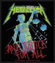Metallica - ...And Justice For All Patch Aufnäher