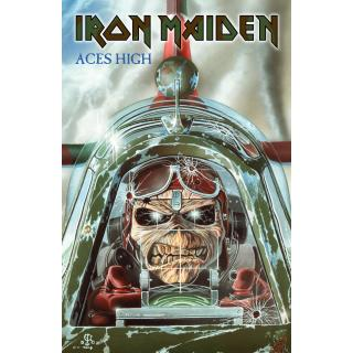Iron Maiden - Aces High Posterflagge