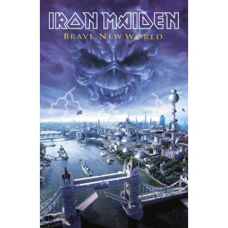 Iron Maiden - Brave New World Posterflagge