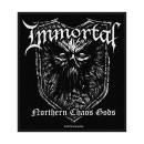 Immortal - Northern Chaos Gods Patch Aufnäher