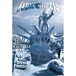 Helloween - My God Given Right Posterflagge