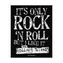 The Rolling Stones - Its Only Rock N Roll Patch Aufnäher