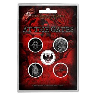 At The Gates - To Drink From The Night Itself Button-Set
