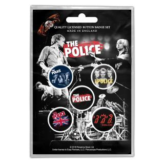 The Police - Various Button-Set
