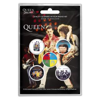 Queen - Later Albums Button-Set