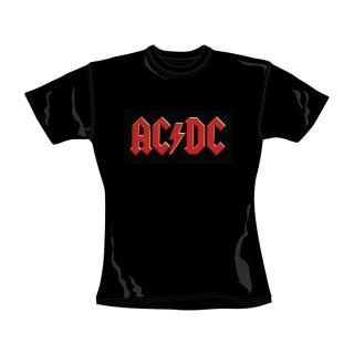 AC/DC - Logo Damen Shirt Gr. L