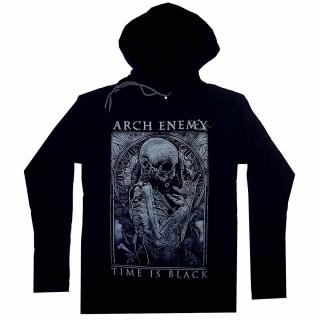 Arch Enemy - Time Is Black Damen Kapuzenpullover