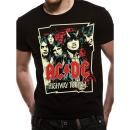 AC/DC - Highway To Hell Cartoon T-Shirt S