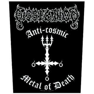 Dissection - Anti-Cosmic Backpatch -  Rückenaufnäher