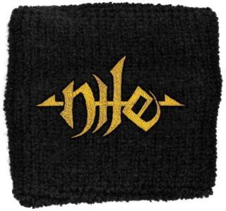 Nile - Gold Logo Schweissband