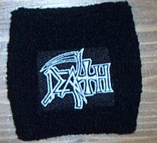 Death - Logo White Armband