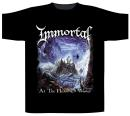 Immortal - At The Heart Of The Winter   T-Shirt XL