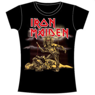 Iron Maiden - Slasher Damen Shirt Gr. L