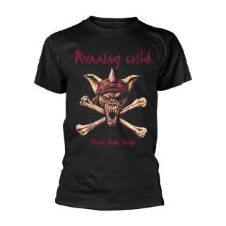 Running Wild - Under Jolly Roger Crossbones T-Shirt