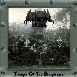 Nocturnal Breed - Triumph Of The Blasphemer MCD -