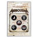 Airbourne - Boneshaker Button-Set